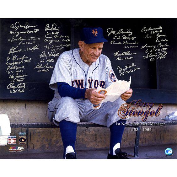 Steiner 1962 New York Mets -Signed Casey Stengel 16x20 Photo