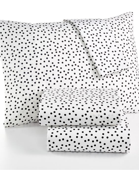 Martha Stewart Collection Whim Printed California King Sheet Set - Bed in a Bag - Bed & Bath - Macy's