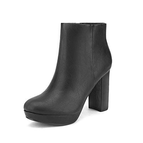 DREAM PAIRS Womens High Heel Ankle Boots