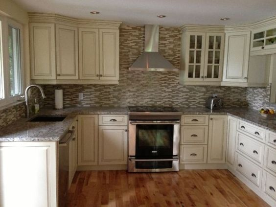 Armoires de cuisine et granite kitchen cabinets and for Armoire de cuisine kijiji