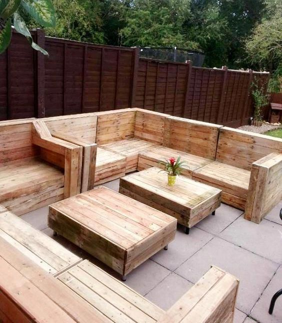 Small Pallet Furniture Pallet Patio Furniture For Sale How To