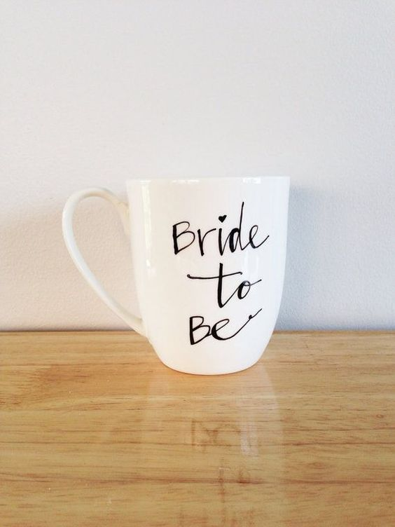 Bride to Be Mug Cup for Bridal Shower
