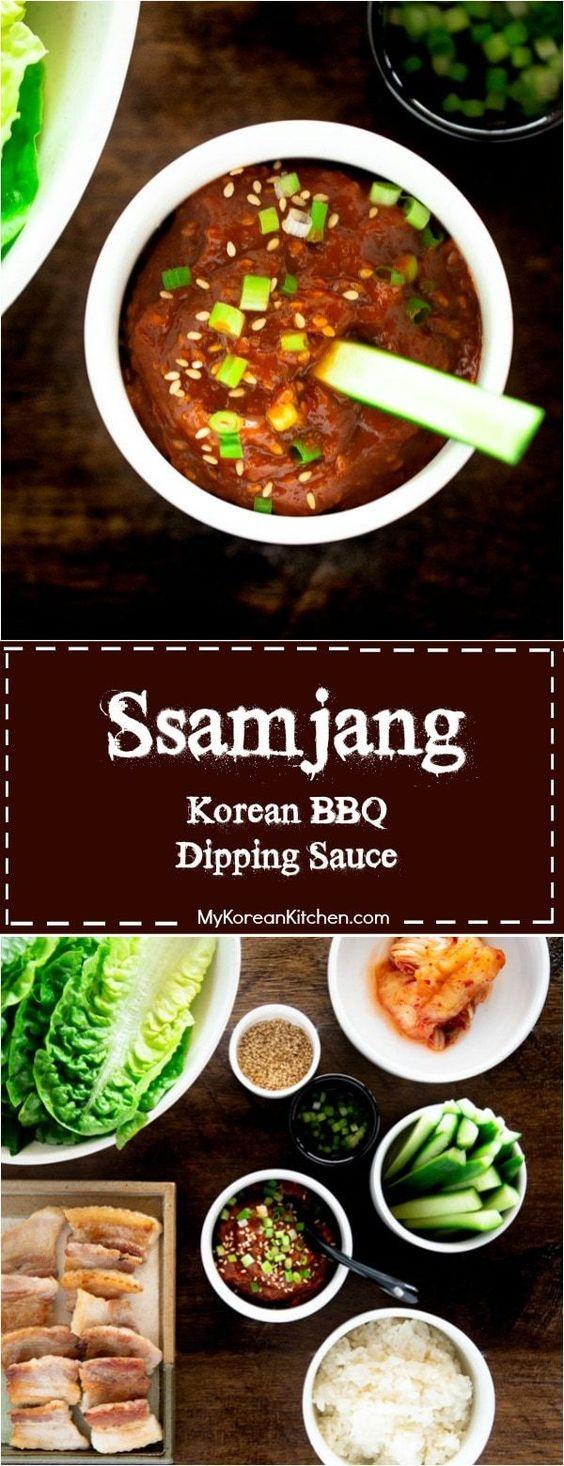 Ssamjang Recipe (Korean Dipping Sauce) - My Korean Kitchen