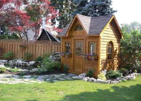 Custom Copper Creek Shed In Toronto Ontario Traditional Sheds Garden Sheds For Sale Garden Shed