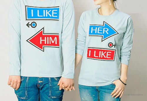 Cute shirt for couples