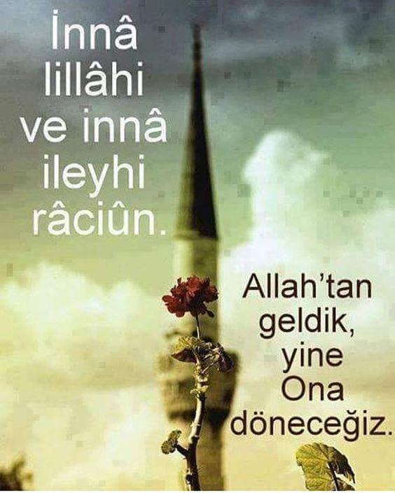 . . . Elhamdulillah , müslümanın gideceği yer belli. Siz kendinize çekin kaygıyı pis kefere . . .