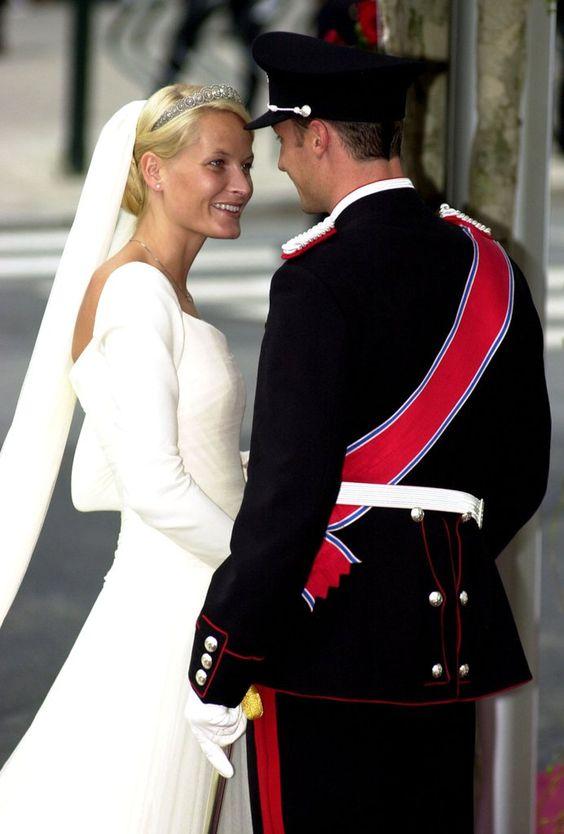 Prince Haakon and Mette-Marit Tjessem Hoiby