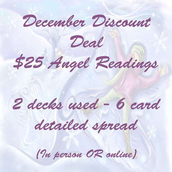 Want to connect with your angels this holiday season? You can always connect with them at any time, any day.. I understand that with this he...