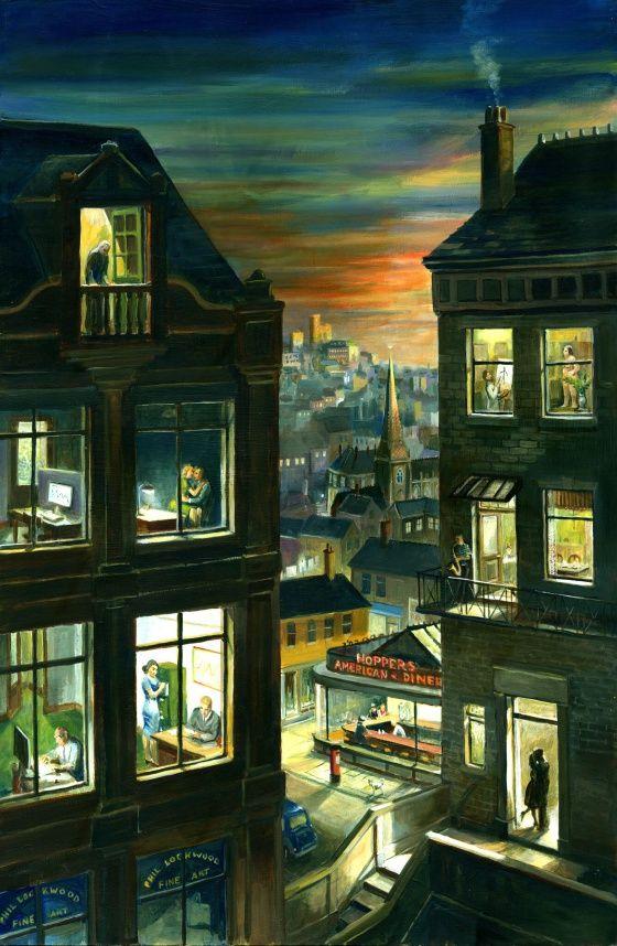 No es un cuadro de Hopper, son muchos Hoppers encerrados en un cuadro | Verne EL PAÍS