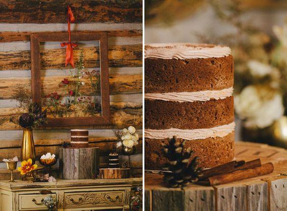 Gâteau rustique au chocolat
