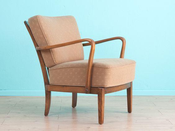 Klassischer 50er Jahre Sessel, Vintage, von MID CENTURY FRIENDS auf DaWanda.com