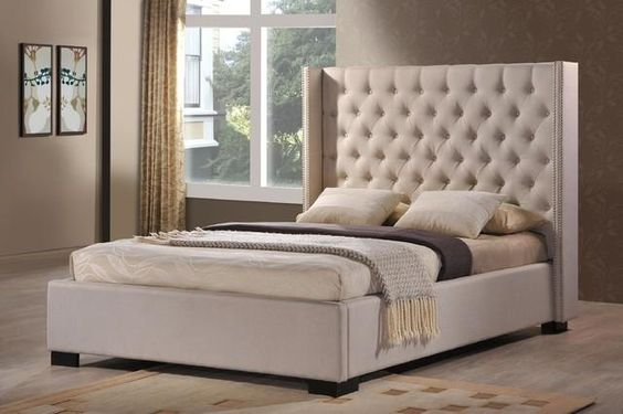 cheap upholstered bed 1