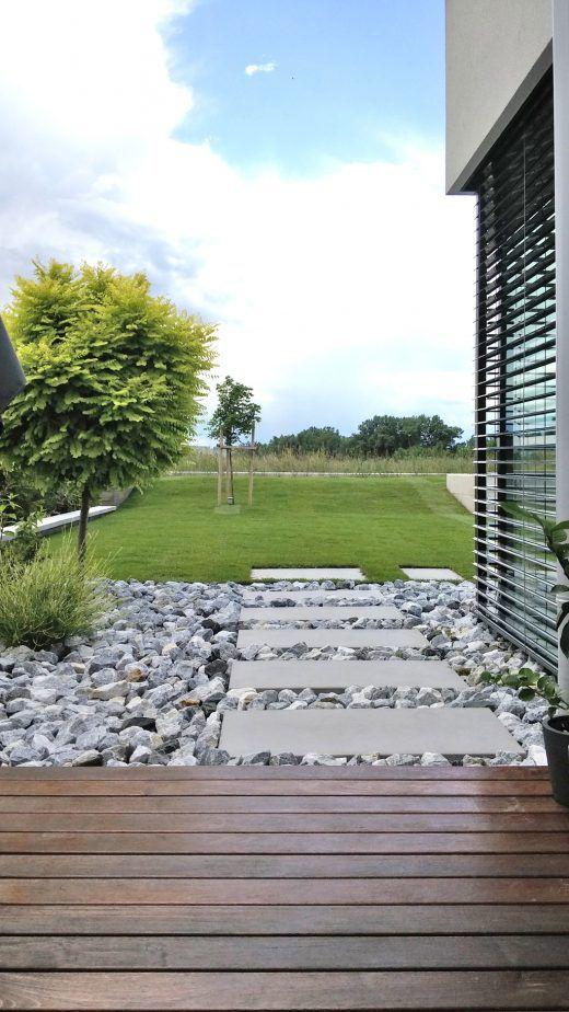 Die besten 25+ Moderne gärten Ideen auf Pinterest Moderne - gartengestaltung terrasse hang