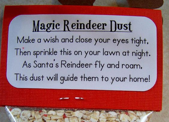 Afriend gave my daughter a bag of this when she was younger..only she used hay and glitter..so i still have it..I but it under my tree very year..lol