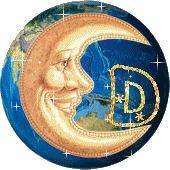 Lindos Alfabetos: Cartas en el brillo de la luna alfabeto!