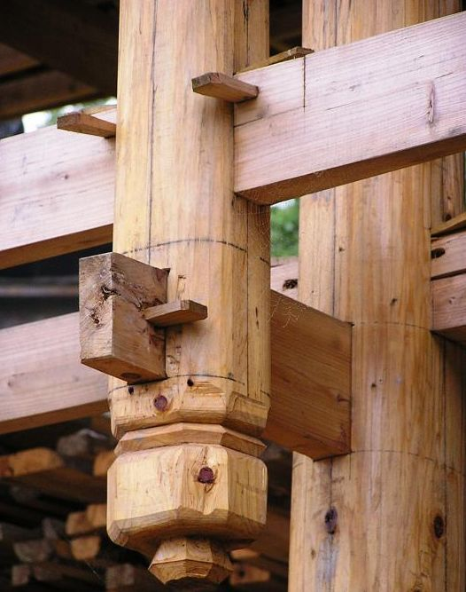 Japanese Roof Construction