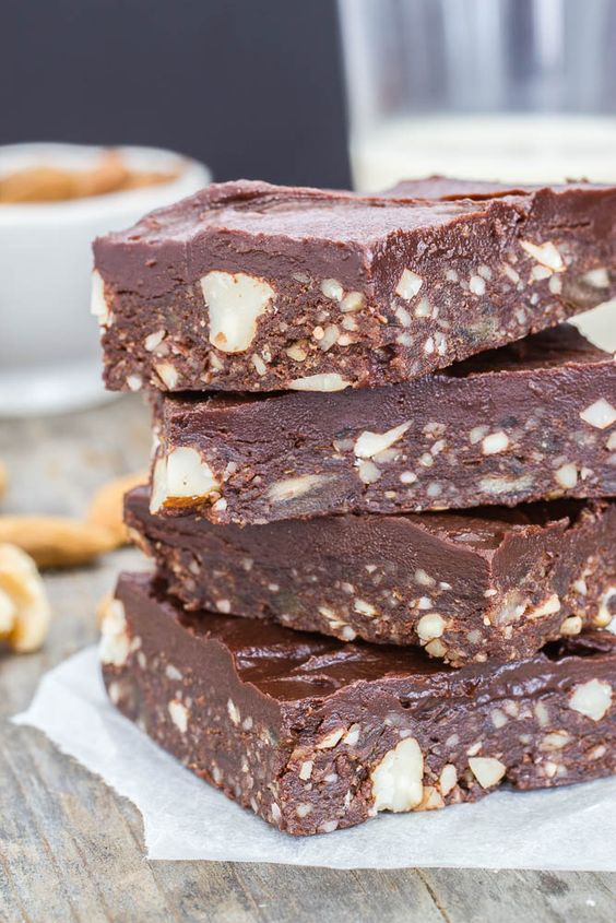raw brownies, and although I have tried lots of other raw brownie recipes and variations since, this one is still one of my favorites. It's easy to make ...
