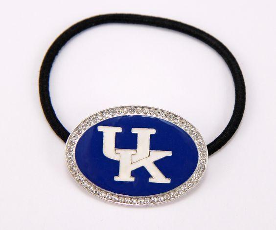 University of Kentucky Wildcats Pony  Tail  Holder