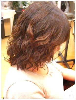 ぺたんこダメージ毛でボリューム出にくい パーマがとれやすい髪へ