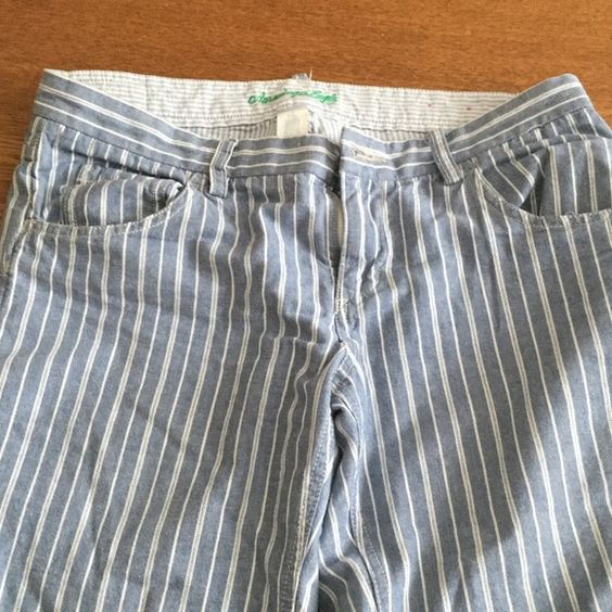 American Eagle jeans American Eagle low rise striped 100% cotton jeans. EUC! American Eagle Outfitters Jeans Straight Leg