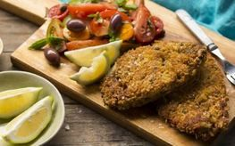 Veal Escalopes with a Parmesan Breadcrumb