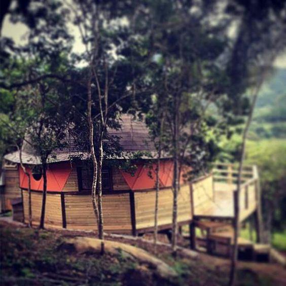 Vista exterior con pintura http://comoconstruirundomo.info/como-construir-un-domo-geodesico-tutorial/