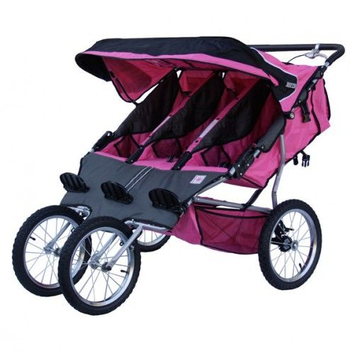 HERS- Triple Jogging Stroller - BeBeLove Baby Gear - Events | Baby ...
