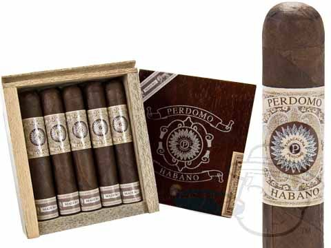 Perdomo Habano Robusto Maduro 5 x 52—Box of 20 - Best Cigar Prices