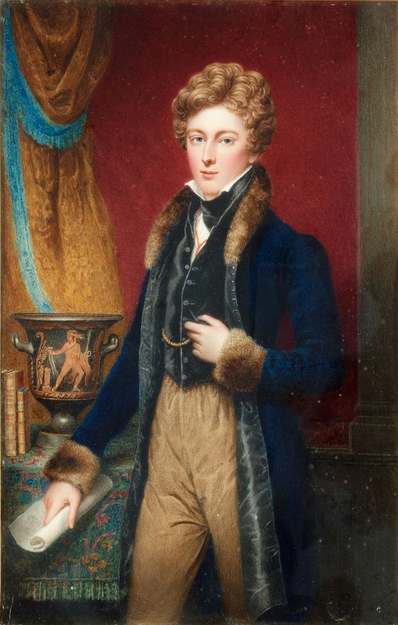 early 1800s Unknown artist - Unknown English nobleman