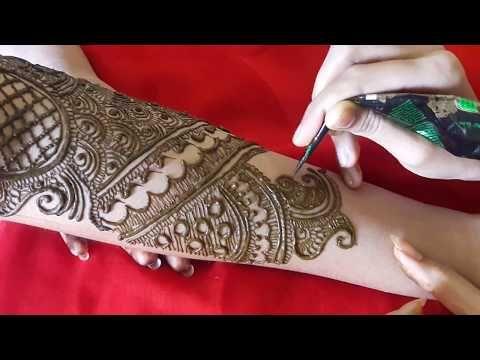 Full Hand Bridal Mehndi Designs Indian Wedding New Design