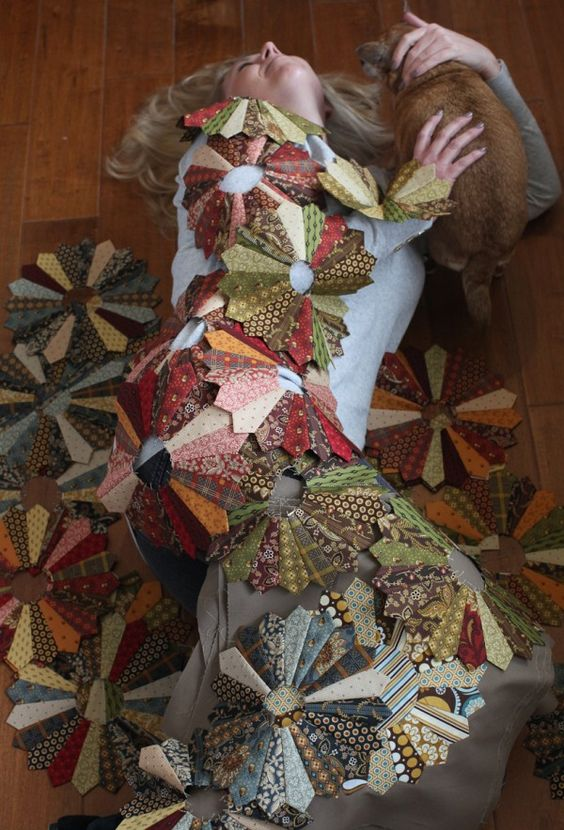 Great Colors.....I'm definitely wishing for a quilt like this....