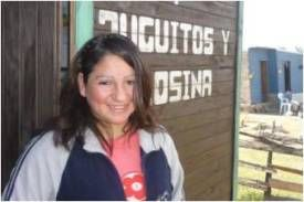 A microcredit client of Pro Mujer in Argentina. The Pro Mujer network dedicates itself to empowering Latin American women to life themselves out of poverty.