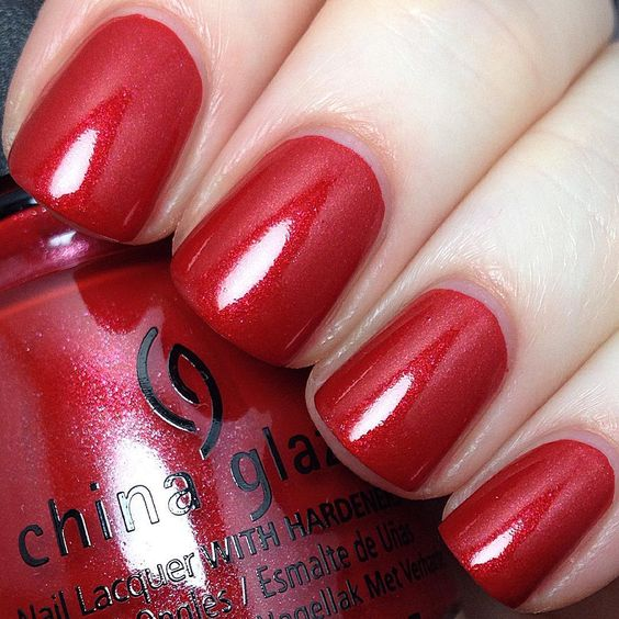 """China Glaze """"Rebel Collection"""" (Fall 2016) - Y'all Red-y For This?:"""