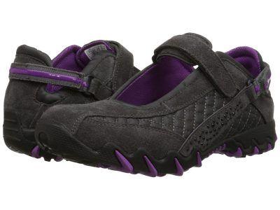 Allrounder by Mephisto - Niro Diamonds (Graphite Suede/Wela Mesh) Women's  Shoes