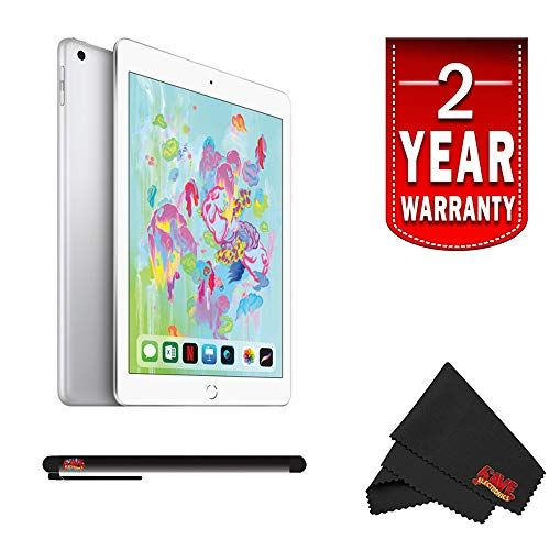 Apple 9 7 Ipad Wi Fi 128gb 2018 Model Silver 9 7 Multi Touch Retina Display 2048 X 1536 Screen Resolution 264 Ppi Android Phone Apple Pencil Multi Touch