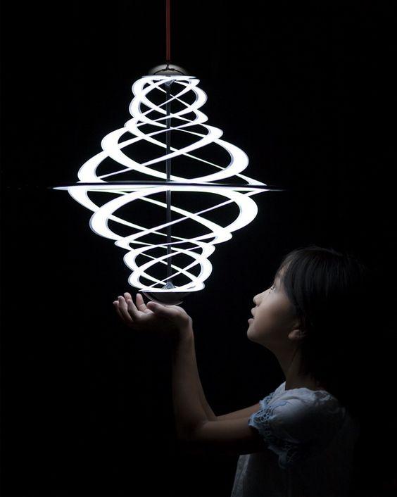 Luminaire Lactea Design : Shoji Katsume (Studio Niji) : Les projets financés par VIA et conçus par la nouvelle génération de designers français.