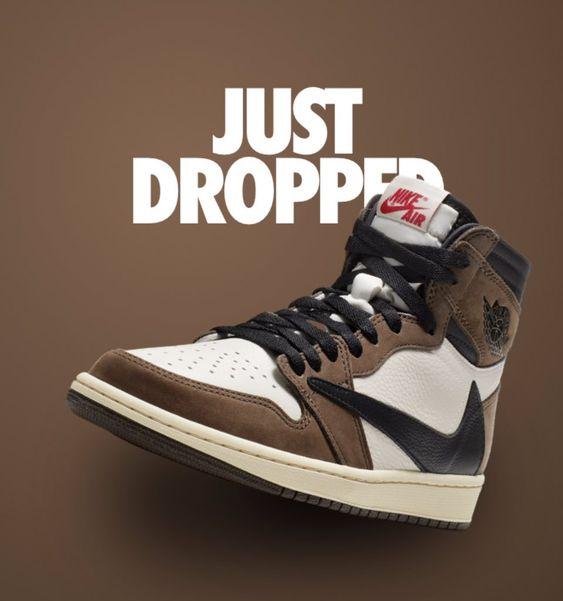 Travis Scott Air Jordan 1 Cd4487 100 Release Date Sneaker Bar Detroit Sneakers Men Fashion Air Jordans Sneakers