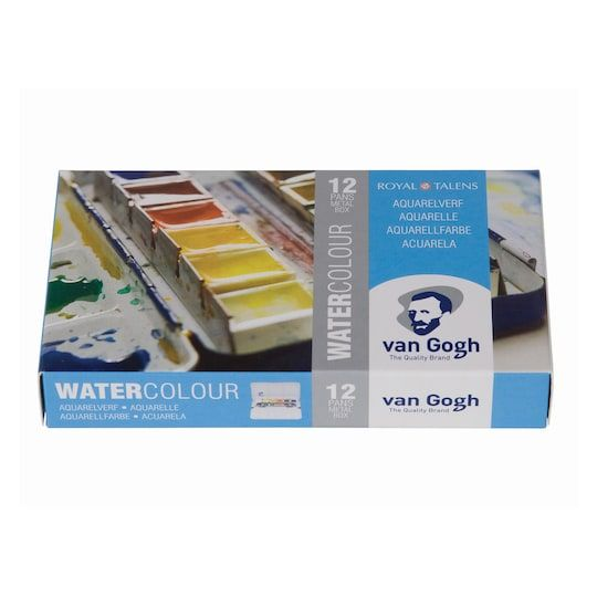 Royal Talens Van Gogh Watercolour Metal Pocket Set Paint