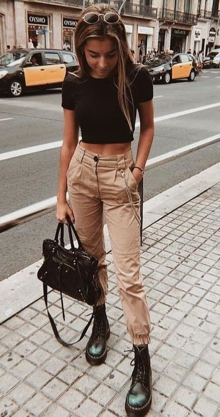 outfits casuales botas
