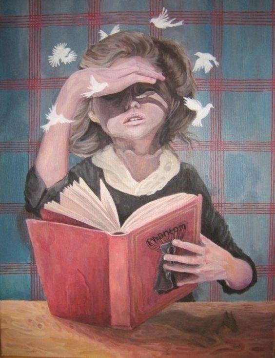 """Αποτέλεσμα εικόνας για pinterest in reading a book"""""""
