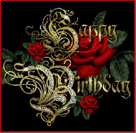Happy Birthday Glitter Graphics For Facebook happy birthday animate...