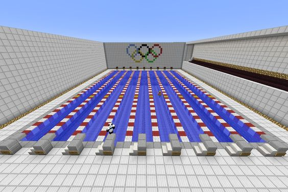 Olympic Pool Minecraft Things I 39 M Going To Make On Minecraft Pocket Edition