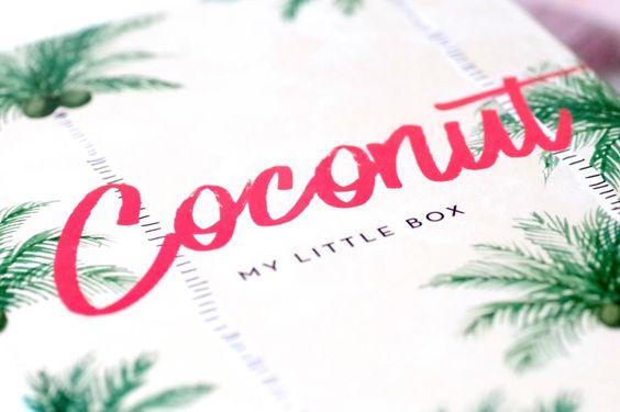 Unboxing der My Little Box Coconut im Juli 2016 von The Makeup Jungle. Alles rund ums Thema Kokosnuss mit Merci Handy, Bumble & Bumble, Weleda.