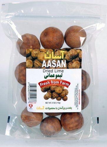 AASAN Dried Lime Whole (Whole Limu Amani) 4 oz - Pack of 6 by AASAN, http://www.amazon.com/dp/B0036ZI2GU/ref=cm_sw_r_pi_dp_kx.Rrb17MA77Z