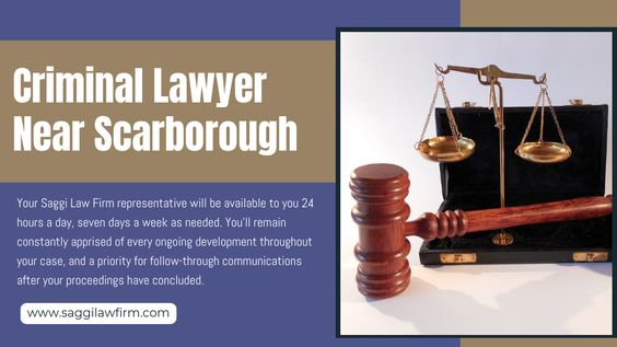 Criminal Lawyer Near Scarborough