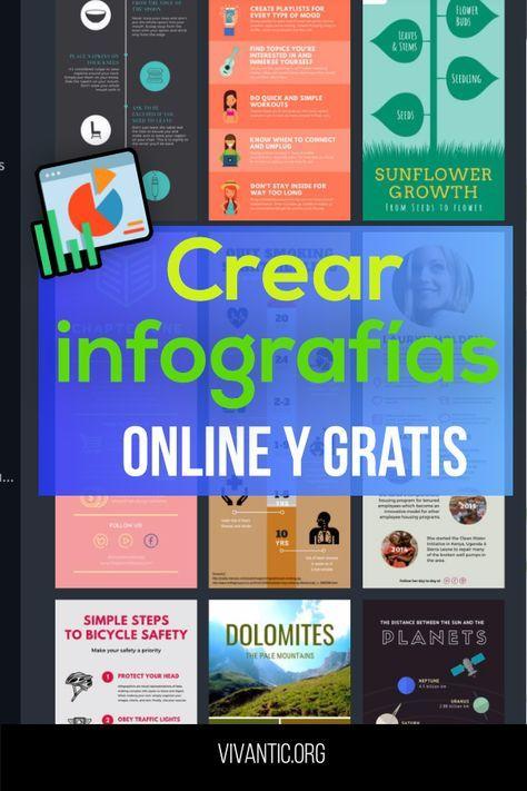 Programas Online Para Crear Infografías En Linea De Forma Creativa Animadas E Interactiv Crear Infografias Infografias Online Programas Para Hacer Infografias