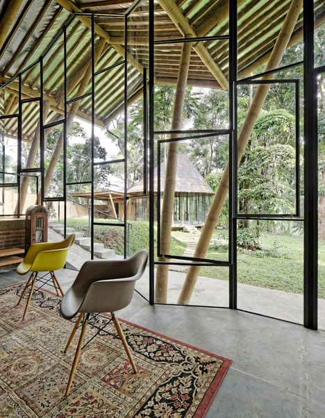 Dancing Mountain House, Salatiga, Central Java | by Budi Pradono Architects