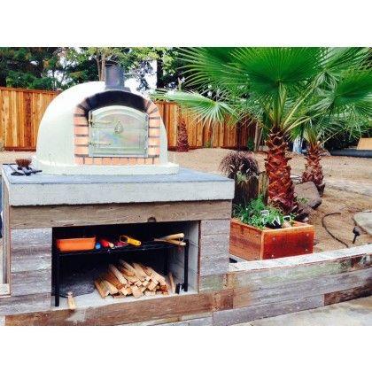 Portuguese brick pizza oven
