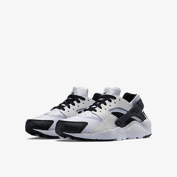 Nike Huarache Black And White Uk