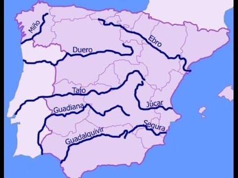 Cancion De Los Rios Memorizar Nombres Rios De Espana Mapa De